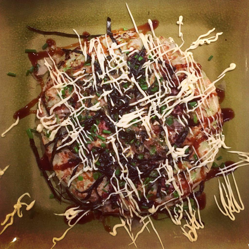 Recipe for okonomiyaki Kansai style - preperation