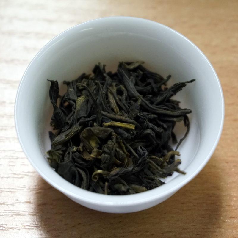 Chinese oolong tea Da Hong Pao (Dà Hóng Páo)